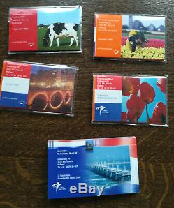 Lot 5 Sets Netherlands Which Euro Mini Bu Rare 8 Rooms From 1998 To 2002