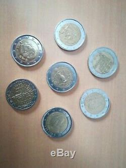 Lot Of Very Rare 2 Euro Coins