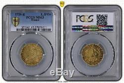 Louis XV Louis 1726 Gold Besancon Rare Splendid Pcgs Ms63 Flan Mirror