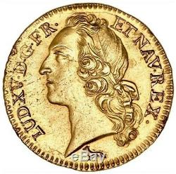 Louis XV Louis Of Gold Headband 1740 Paris Very Rare Pre-series Splendid