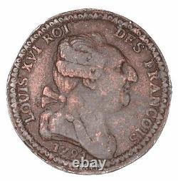 Louis XVI Constitution Essay 1791 Bronzed Tin Very Rare