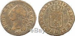 Louis Xvi, Ground, 1791 Lyon, H1, Bell Metal, Very Rare 3