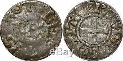 M6165 Very Rare! Robert II Denier Paris Silver Make Offer