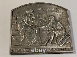 Medal The Lyon Gas Company November 1904 Very Rare (59-37/a10)