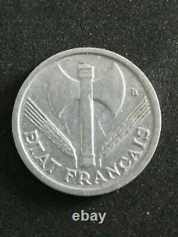 Mints, French State, 1 Franc Bazor, 1942, Low Weight, Very Rare #33245