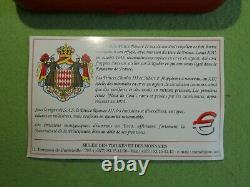 Monaco Monacophil Official 2012coffret 8 Rooms 2001 (museum Of Monaco) Rare