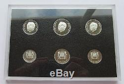 Morocco Very Rare Box Be Silver 2011 Of 6 New Values