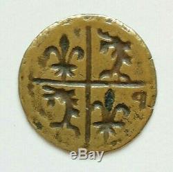 N ° 18 Dauphiné Jeton. Chevalier Bayard (pontcharra) Very Rare R4