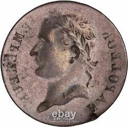 Napoleon I 1 Franc Incuse -very Rare