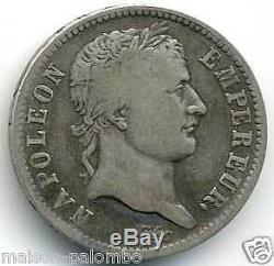 Napoleon I 1 Franc Silver 1807 In Paris Very Rare