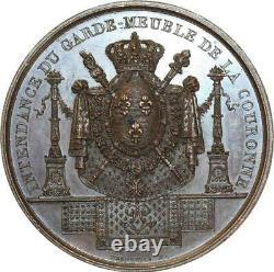 O6006 Tres Rare Medal Stewardship Guard Charles X Desnoyers Spl Fdc