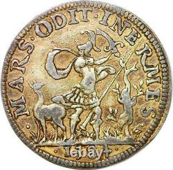 P3320 Very Rare Token Henry III King Poland Grace Of God March 1584 Silver