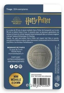 Paris Mint Harry Potter 934 Rare Copy, Very Collector's Medals