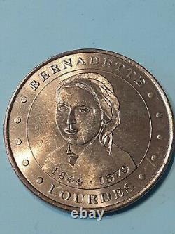 Paris Mint Tourist Jeton Tres Rare Bernadette Soubirou 2002