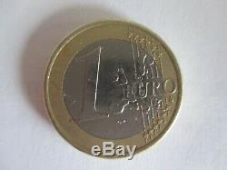 Piece 1 Euro 2002 Very Rare Strike S