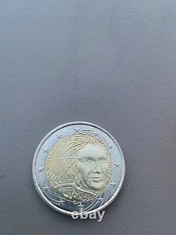 Piece 2 Euro Simone Veil Tres Rare For Collection