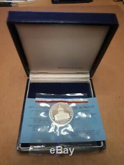 Piéfort 100 Francs Pantheon 1983 Silver Very Rare