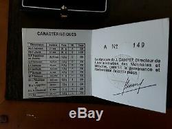 Piéfort Beautiful Ordeal Pantheon 100 Francs Argent 1986 Very Rare Warranty