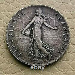 Pl # 3 50 Cents. Sower 1897 Blank Mat (spl) Rare