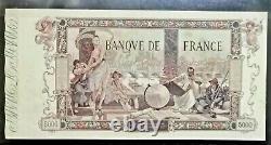 Rare 5000 Flameng Francs 23 January 1918th State Ttb-tres Bel Aspect