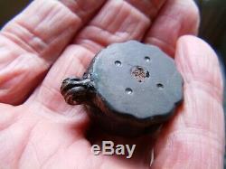Rare Box Roman Seals Covering Decor Inlaid Blight