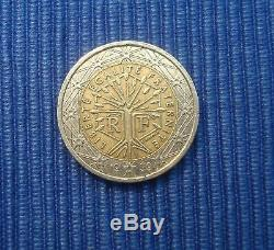 Rare Part 2 Euros France 1999 Fautée Two Identical Faces Meme