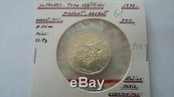 Rare Piefort 10 Francs Mathieu 1979 Silver 700 Ex Piedfort + Certificate