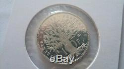 Rare Piefort 100 Francs Panthéon 1983 242 Silver Ex Piedfort