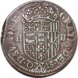 S2480 Unpublished Very Rare Navae-bearn Henri III Quarter Of The Ecus 1583 Pau