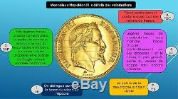 Sale Very Sought Rare Condition Splendid 5 Francs Gold Napoleon III 1866 A Spl