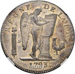 Six Books Ecu Convention 1793 Lyon Splendid Very Rare Ngc Ms60