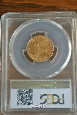 Slavée Ms 64 + 20 Francs Gold Coq 1903 Very Rare Condition