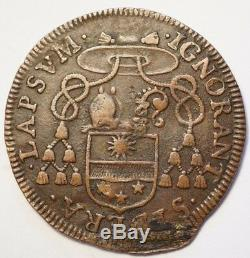 States Of Languedoc Very Rare Token Of The Bishop Of Nimes Anthyme-denie Cohon