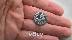 Superb Gallic Currency Starere Money Redones Venetes Has The Very Rare Lyre