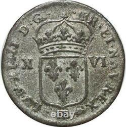 T2113 Very Rare XVI Louis 16 Deniers 1706 Bb Strasbourg Make Offer