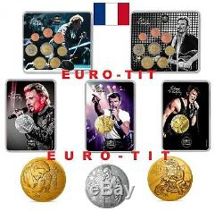 The Collection Johnny Hallyday Complete 2019 Very Rare
