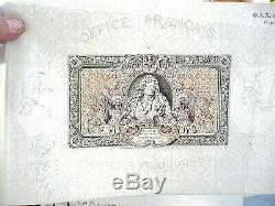 Ticket 1000 Francs Louis XIV 1938 Test Desfossés Rare