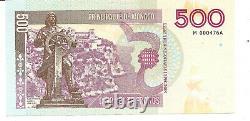 Ticket 500 Francs Monaco Very Rare