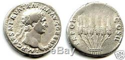Trajan (98-117) Cistophore Silver Very Rare
