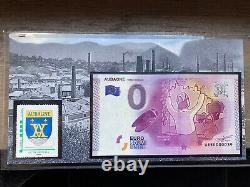 Tres Rare Encart Aubagne Tourist Ticket 0 Euro 2015 39/100