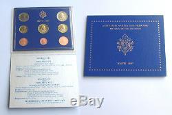 Vatican 2007 Set Of 8 Euro Coins (bu) 'very Rare