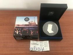 Very Rare 10 Euro Chute Du Mur De Berlin Silver Be France 2019