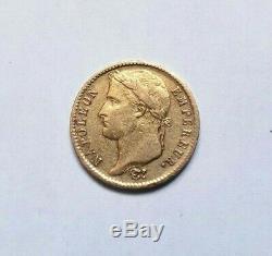 Very Rare And Beautiful Piece Of 20 Francs 1812 U Napoleon I Turin