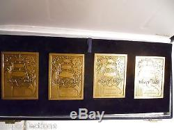 Very Rare Box Dga Dcn Bronze Bronze Plaques French Navy History