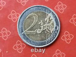 Very Rare Coin Of 2 Euro Mature Berlin Germany Failed