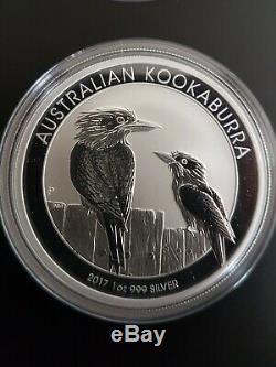 Very Rare Complete Set X20 20x Kookaburra 2017 1 Oz Pure Silver 999.9