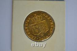 Very Rare Double Louis D'or Of Louis XVI 1786 D Lyon Spl 15.25gs
