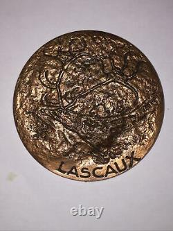 Very Rare Double Medal Discovery Of Lascaux Caves 1998 500 Copies