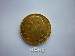 Very Rare Gold Francs France 40 Year 12 A Beading Greenhouse Obverse And Reverse 150 \ 150