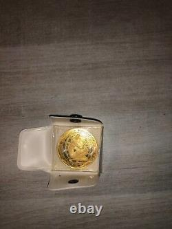 Very Rare Gold Medal Expo 58 16 Grams 900/1000